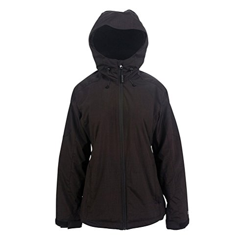 PWDR Room Women's Phantom Jacket, Black, Large (Phantom Snowboard Jacket)
