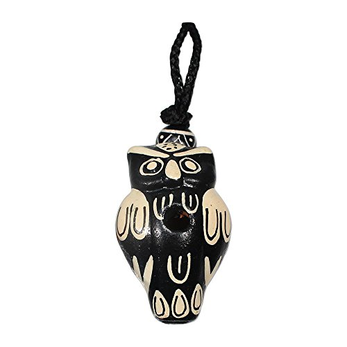 Singing Owl Clay Whistle - Cord ()