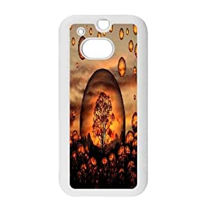 LTTcase Personalised blowing bubbles Case for HTC one m8