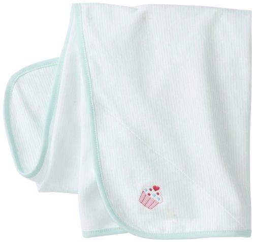 Little Me Baby-Girls Newborn Cupcake Schiffli Tag Along Blanket