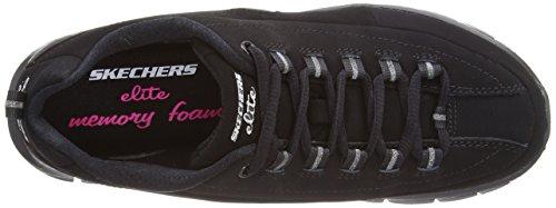 Synergy Trend Skechers De Negro Deporte Setter Para Mujer Zapatillas q5dzwdfA