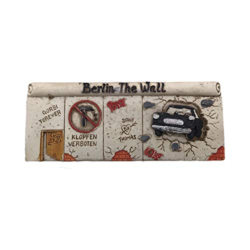 Berlin Germany Berlin Wall 3D Refrigerator Magnet Tourist Souvenirs Resin Magnetic Stickers Fridge Magnet Home & Kitchen Decoration from China