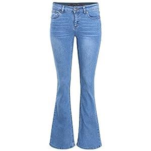 Ladies' Code Women's Mid Rise Bootcut Denim Jeans