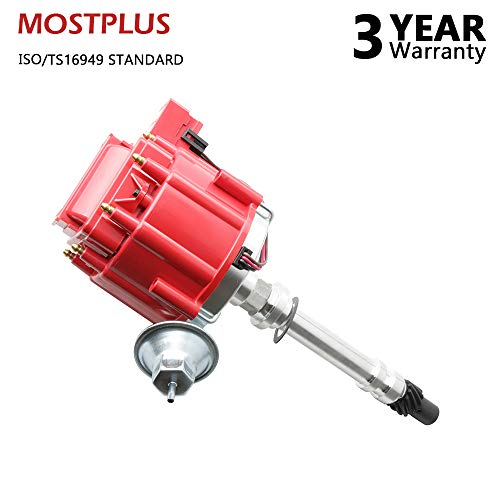 - MOSTPLUS 7500RPM-350 New Racing Distributor for Chevy GM V8 HEI w/ 65K Coil 454 SBC BBC