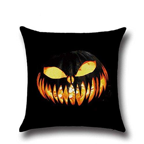 Pillow Cover - Black Series Square Halloween Throw Pillow Case Pumpkin Covers - Joker Zelda Disposable Yourself 20x20 Sunshine Satin Hypoallergenic White Moon Hotel Cotton Standard Wrinkles Uni