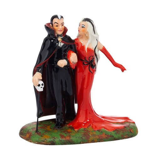 - Department 56 Snow Village Halloween Out for a Bloody Good Time Accessory Figurine, 3.35 inch