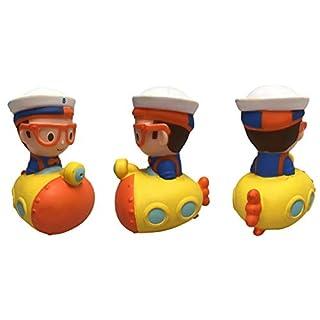 U.C.C. Distributing Floating Blippi Bath Squirter Toy Figure - Submarine Blippi