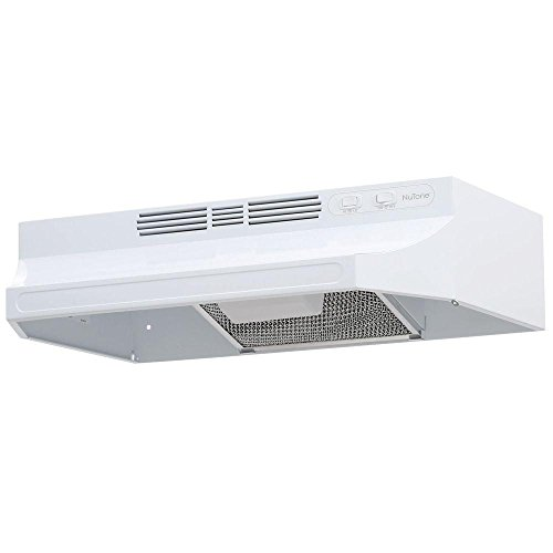 NuTone RL6224WH 24 in. Non-Vented Range Hood in White