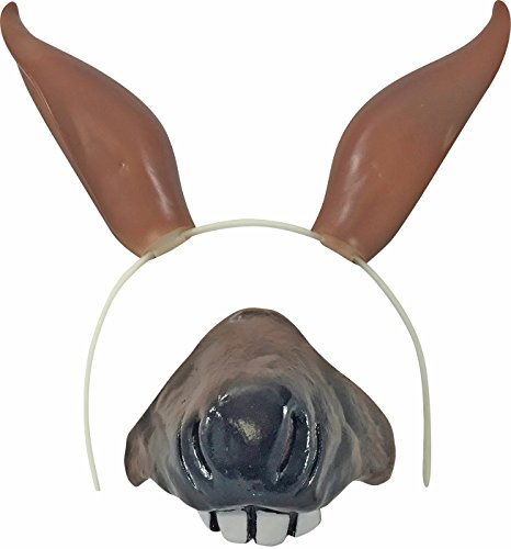 Horse Nose Costume (Horse Ears & Nose Costume Set)