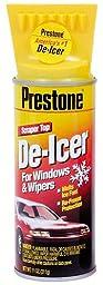 Prestone AS242-12PK Spray De-Icer with Scraper Top -11 oz., (Pack of 12)