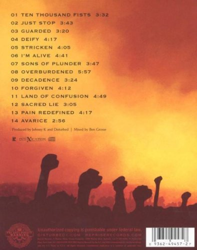 Ten thousand fists track list