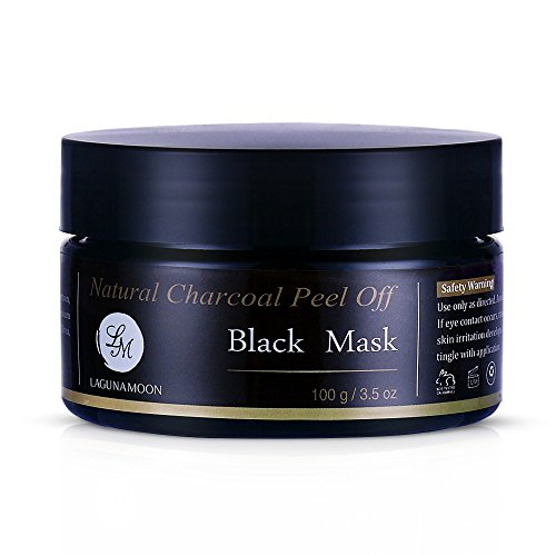Lagunamoon Natural Charcoal Peel off Black Mask...