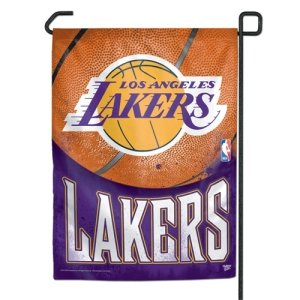 WinCraft NBA Los Angeles Lakers Garden Flag, 11''x15'', Team Color