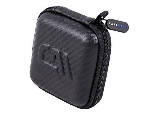 CASEMATIX Wireless HDMI Dongle Carry Case Fits One Toneseas HDMI Miracast Dongle Receiver Stick with Accessories by CASEMATIX (Image #3)