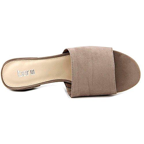 Bar III Womens Jane Open Toe Casual Slide Sandals Taupe SPdjJ1ufb