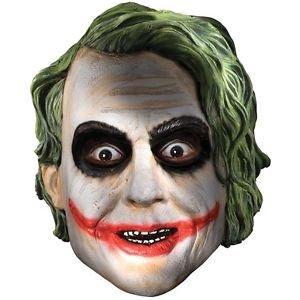 Joker Mask Child Boys Dark Knight Halloween Costume Accessory