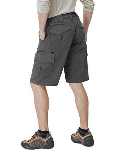 CQ-TSP202-CHC_40 CQR Men's Tactical Lightweight Utiliy EDC Cargo Work Uniform Shorts TSP202