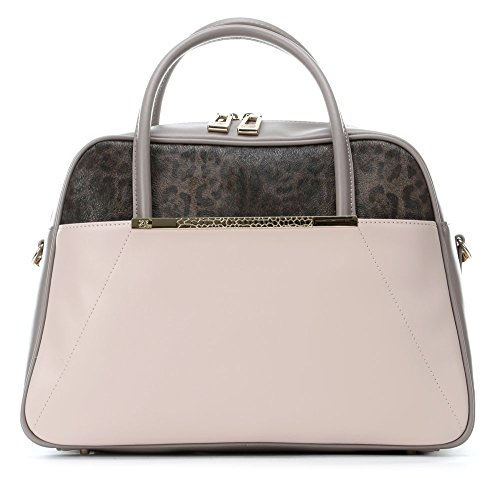 Roberto Cavalli Class Candy Leopard Bag (Pink Taupe) cd3a5fcaf02
