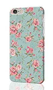 """Vintage Floral Shabby Chic 3D Rough iphone 6 -4.7 inches Case Skin, fashion design image custom iPhone 6 - 4.7 inches , durable iphone 6 hard 3D case cover for iphone 6 (4.7""""), Case New Design By Codystore"""