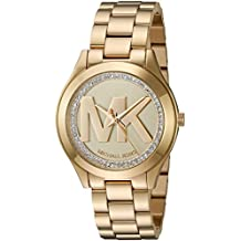 Michael Kors Women's Quartz Stainless Steel Automatic Watch, Color:Gold-Toned (Model: MK3477)