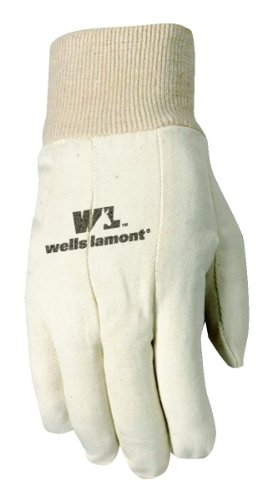 WELLS LAMONT Canvas Work Gloves, Standard Weight, Wearpow...
