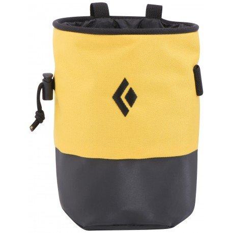 Black Diamond Mojo Zip Chalk Bag Flash/Slate Medium/Large