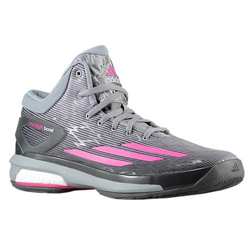 super popular 1725e b6786 Galleon - Adidas Men s C75902 Crazylight Boost Athletic Shoes, Grey Pink  White, 8