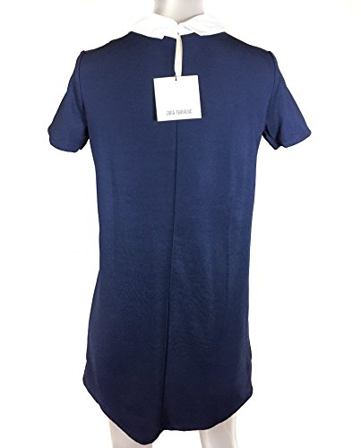 Zara Femme Robe avec col chemise et broderie 1131/090