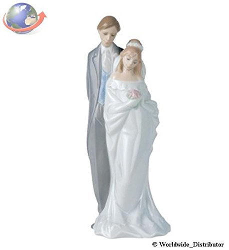 Nao Porcelain by Lladro LOVE ALWAYS ( BRIDE & GROOM , MARRIAGE , WEDDING , COLLECTION ) 2001437 ()