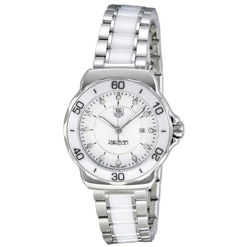 Tag Heuer Women's WAH1315.BA0868 Formula 1 Stainless Steel Sport Watch with Diamonds by TAG Heuer