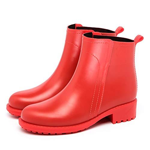 da da Stivali per per Unisex Colore Stivaletti Rosso Dimensione Adulti 3 Impermeabili Rosso Donna Antipioggia Jxth per 39 1 EU Donna AEPwdUqAY