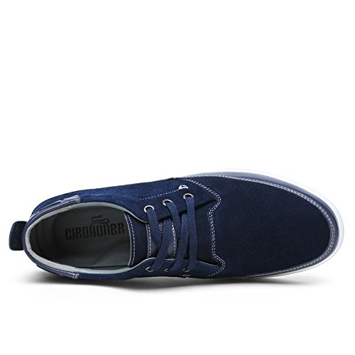 Homme En Bleu bleu Vert Chaussures pour Rouge Daim hommes Bleu Marron vilocy Casual qBXttR