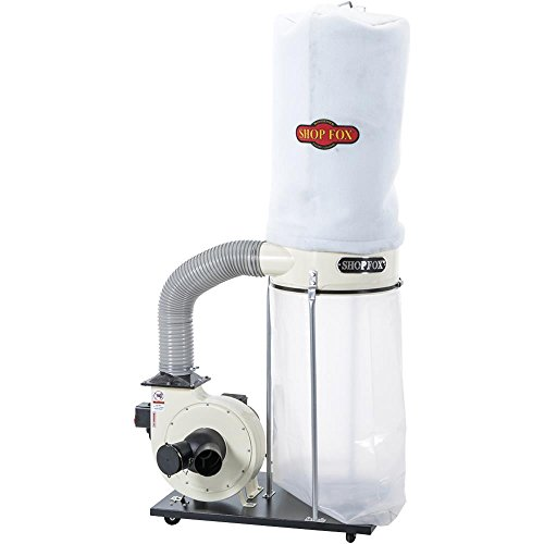 (SHOP FOX W1685 1.5-Horsepower 1,280 CFM Dust Collector)