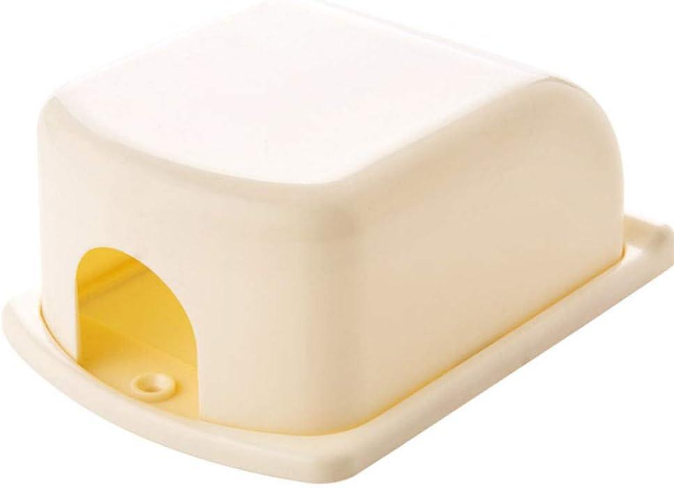armine88 Schalterabdeckung Kid Schutz elektrischer Ger/äte Tragbarer Anti-Elektroschock Solide Universal Baby Kinderschutz Einzelstecker Leichtgewichtler