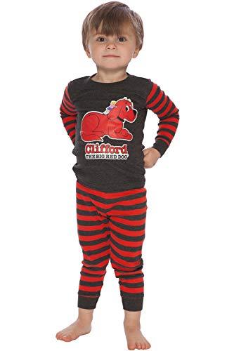 Clifford Boys' Toddler Bookjamas, red -