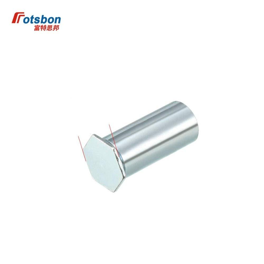 Nuts 1000pcs BSOA-440-6/8/10/12/14/16/18/20/22/24/26/28/30/32/34 Blind Threaded Standoffs Aluminum PEM Standard Standoffs Wholesales - (Size: BSOA-440-20)