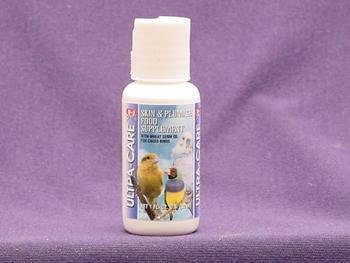 41nUwElXh7L - 8 in 1 Ultra Care Skin & Plummage Liquid Daily Supplement for Birds (1 oz.)
