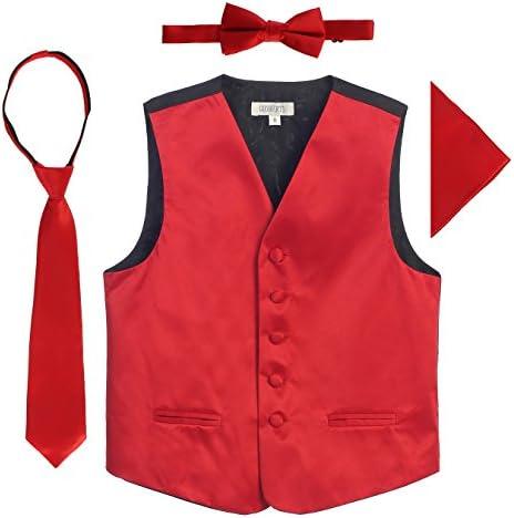 Gioberti Boys Satin Formal Vest product image