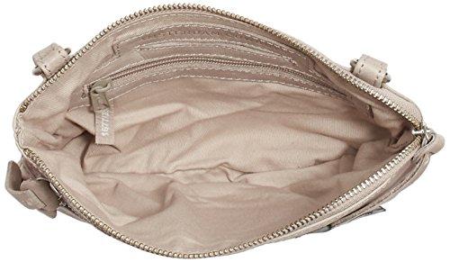 Amsterdam Cowboys Bag Tiverton, Borsa a Tracolla Donna Beige (Beige (Chalk 203))