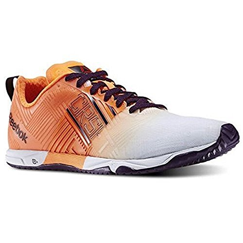 Reebok Women's Crossfit Sprint 2.0 SBL Electric Peach/White/Royal Sneaker 5.5 B (M)