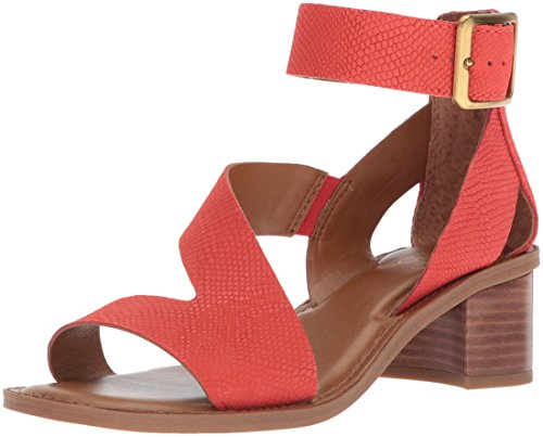 e544a18d251 Franco Sarto Women s Lorelia Ankle Strap Sandal 8.5 M Fire KAA Leather.  About this product. Picture 1 of 9  Picture 2 of 9 ...