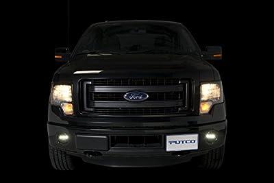 Putco 12003 F150 Luminix High Power LED Fog Lamps with H10 Harness, 1 Pair