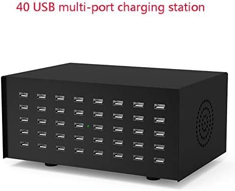 YTBLF Cargador USB de 40 Puertos, Adaptador alimentación ...