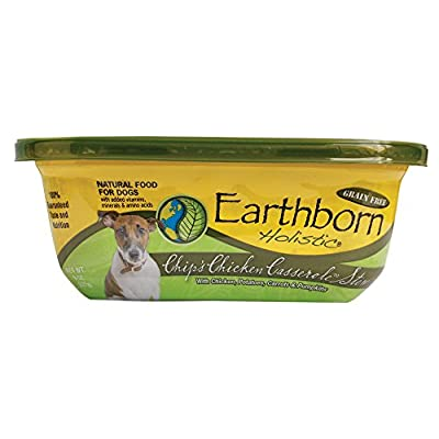 Earthborn Holistic Chip'S Chicken Casserole Stew Grain Free Moist Dog Food, 8 Oz, Case Of 8