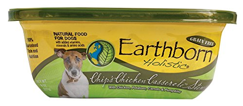 Earthborn Holistic Chips Chicken Casserole Can Pet Food, 8-Ounce, set of 8
