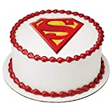"Superman Superhero Edible Cake Topper Decoration (8"" Round)"
