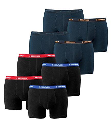 841001001 Head unités Peacoat rouge bleu 8 Boxershort noir 2x Men orange Boxer Boxer EfYwrxEqR