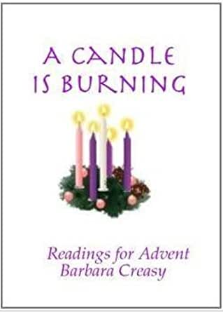 a candle is burning readings for advent kindle edition. Black Bedroom Furniture Sets. Home Design Ideas