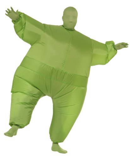Rubie's Costume Inflatable Full Body Suit Costume, Green, One Size (Inflatable Body Costume)