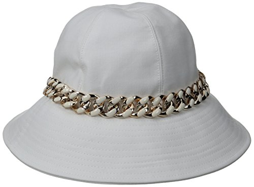 physician-endorsed-womens-cambridge-packable-cotton-hat-with-chain-accent-rated-upf-50-white-one-siz